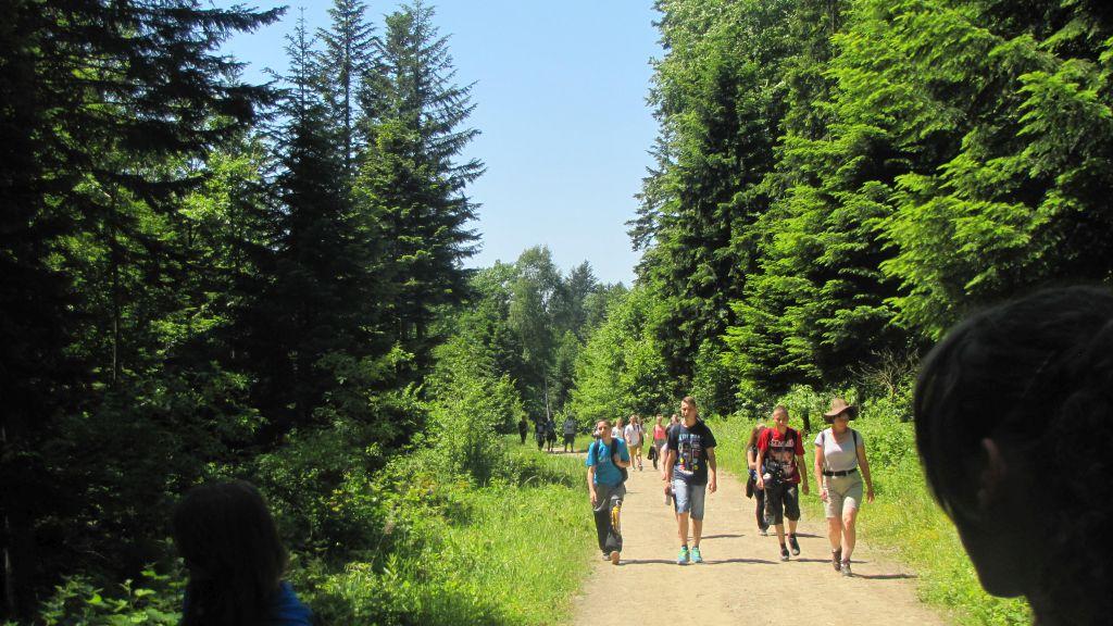 Bieszczady - obóz naukowy 1212