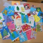 Bożonarodzeniowe kartki dla Szpitala Onkologicznego z Lublina